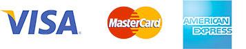 Visa Mstercard American Express Paypal accepted